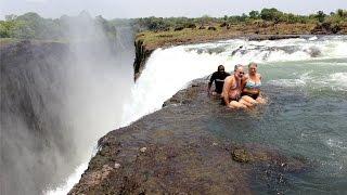 Victoria Falls Zimbabwe  City new picture : Devil's Pool - Victoria Falls, Zambia & Zimbabwe. 2014 November