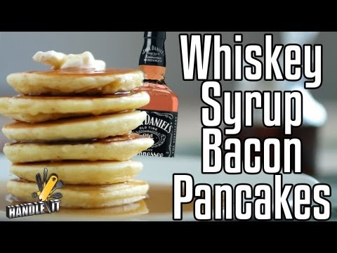 bacon - This episode of Handle It teaches you how to make bacon pancakes with whisky maple syrup! Order the cooking arsenal and follow along every week with new reci...