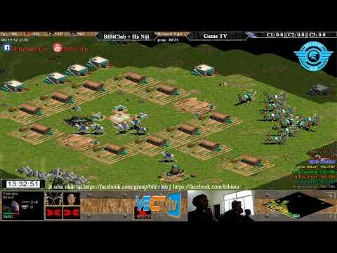 AOE | 4vs4 Random Liên Quân vs GameTV Ngay 28/08/2017.BLV:Có BL