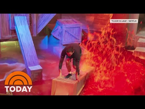 Jenna And Willie Discuss Netflix Series 'Floor Is Lava' | TODAY