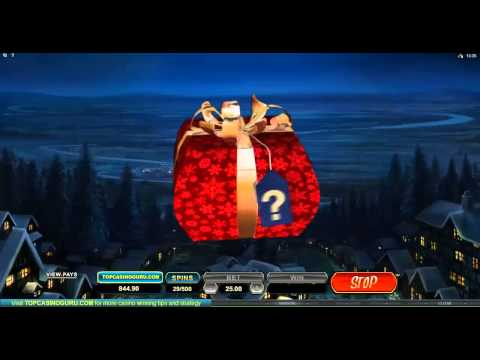 Secret Santa Microgaming Slots all 7 bonus