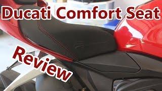 5. Ducati Comfort Seat Review!