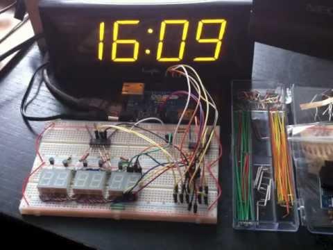 Using an ENC28J60 Ethernet Module to sync an Arduino