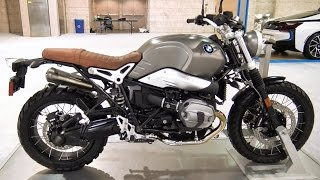 8. BMW R nineT Motorcylce Scrambler 2017