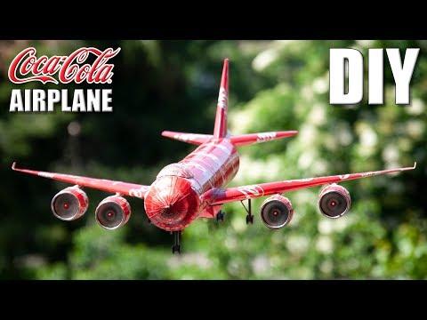 How to Make Coca Cola Airplane