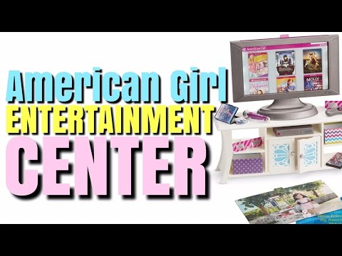 American Girl Doll TV And Entertainment Center
