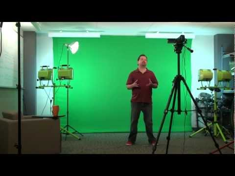Green-Screen Technology for Creative Backgrounds