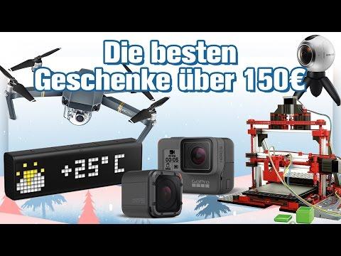 Die besten Technik-Geschenke ab 150 Euro (2016) | deutsch / german