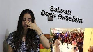 Video Sabyan- Deen Assalam LIVE (crying little kid ) _ REACTION MP3, 3GP, MP4, WEBM, AVI, FLV Agustus 2018