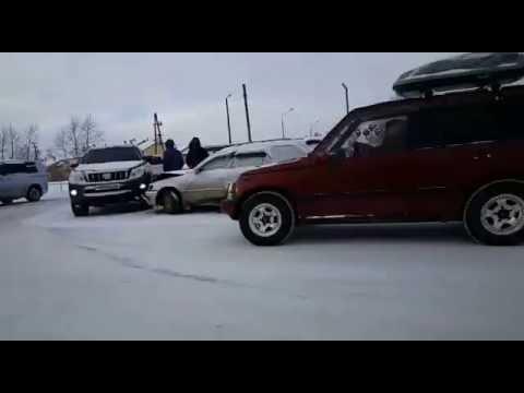 ДТП на Федоровке в Южно-Сахалинске (видео)