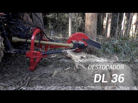 Destocador com tomada de força do trator DL 36