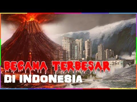 BENCANA ALAM TERBESAR DI INDONESIA YANG PERNAH TERJADI !!