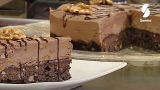 تحلية بموس الشوكولا للسيدة بوعدو حفصي فاطمة الزهراء من برنامج الاوبرا