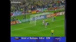 Rivaldos 34 Tore für die brasilianische Nationalmannschaft