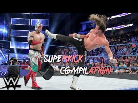 WWE - Superkick Compilation