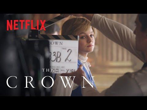 The Crown Season 4   Playing Diana   Netflix