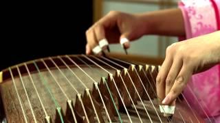 [HD] Nhạc Hoa NTD - Trăng Thu Bên Hồ - Diễn Tấu đàn Tranh