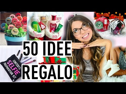 50 IDEE REGALO LOW COST!!! UOMO DONNA | Carolina Chiari
