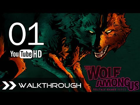 The Wolf Among Us Episode 5 Cry Wolf - Walkthrough Gameplay - Part 1 (Mercy Killing) HD 1080p