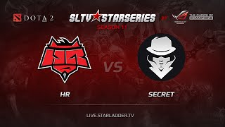 Secret vs HR, game 1