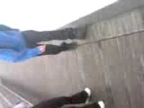 Josh Arnold Falls in Docklands lol 24/9/2008