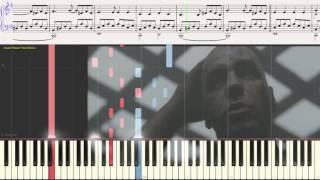 Mutter - Rammstein (Ноты и Видеоурок для фортепиано) (piano cover)