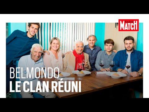 Jean-Paul Belmondo en famille