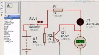 Basic Electronic Components and their Symbols and Connections