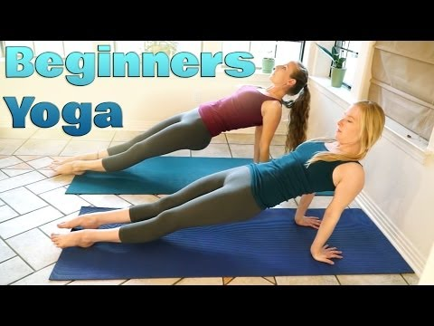 Yoga For Complete Beginners 2 – Relaxation & Flexibility Stretches 10 Minute Yoga Workout