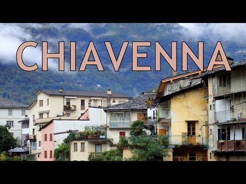 Chiavenna City Tour and visiting Switzerland to eat chocolate