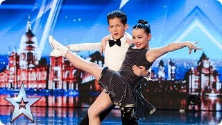 Video Meet dazzling dancing duo Lexie and Christopher | Auditions | BGT 2018 MP3, 3GP, MP4, WEBM, AVI, FLV Mei 2018
