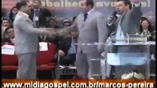 PASTOR MARCOS PEREIRA  COMPARECEU EM GIDEÕES