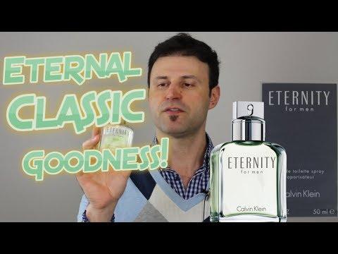 ETERNITY MEN by Calvin Klein COLOGNE/FRAGRANCE REVIEW