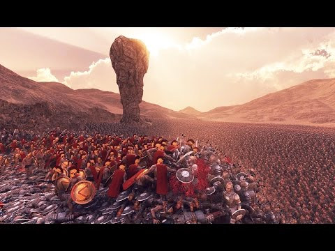300 Spartans vs 20,000 Persians - Epic Battle Simulator