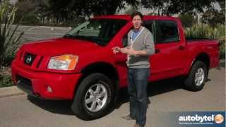 2012 Nissan Titan PRO-4X Test Drive&Truck Review