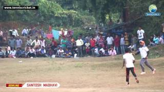 Vikramgad India  City new picture : Santosh Madhavi | Bowling | Tennis Ball Cricket Tournament 2016 | Vikramgad