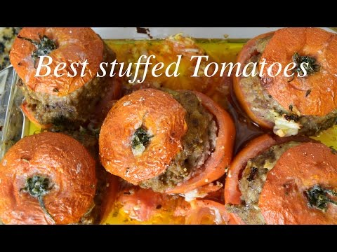 South of France Classic- Stuffed Tomatoes
