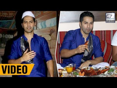 SWEET! Varun Dhawan Keeps Fast On Ramadan For All