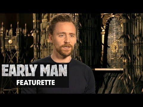 """Early Man (2018) Featurette """"The Voices Inside"""" - Eddie Redmayne, Tom Hiddleston, Maisie Williams"""