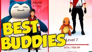 Pokemon GO Best Buddy Pokemon! POKEMON GO 500 MILLION DOWNLOADS! by Verlisify