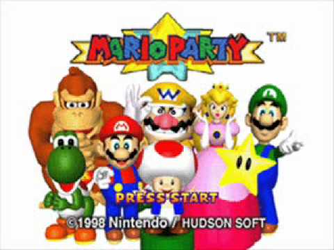 Mario Party 1 OST - Mini-Game Island Mashup