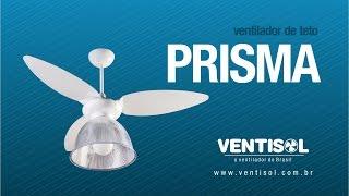Ventilador de Teto Prisma