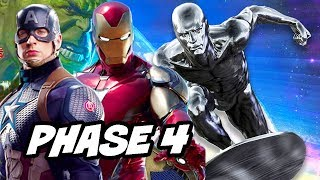 Avengers Endgame Marvel Phase 4 Movie Schedule Breakdown
