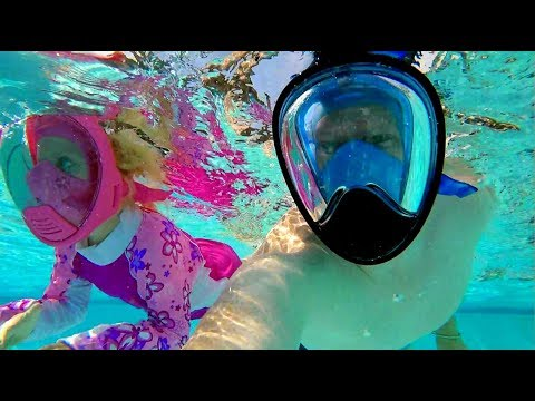 Snorkel Mask and Mermaids