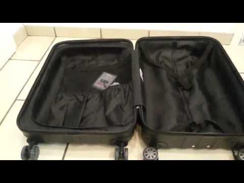 Suitline   Hartschalen Koffer Koffer Trolley Rollkoffer Reisekoffer