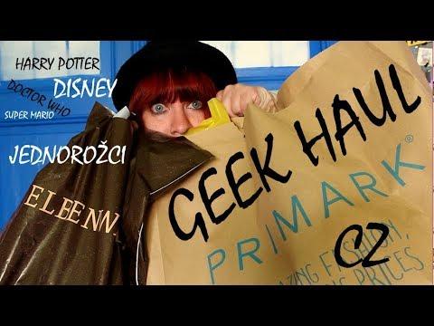 GEEK HAUL CZ - Primark - Elbenwald - Harry Potter - Doctor Who - Disney - Jednorožci / IceQueen Easy