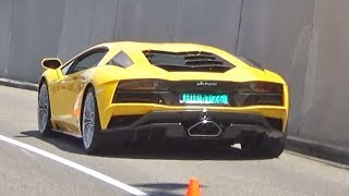 """""""Supercar Sounds!! - Aventador S, Mansory Veyron, AMG GT R, Vanquish S, GT3RS &more!""""--------------------------------------------------------------------------------------------------------------------------------------------------------------------------------------------------------------------------------It's time for a new supercar sounds compilation!  In this edition I mixed some clips of two car events I've attended this month:- Sprinting Sophia (Rotterdam, The Netherlands)- Vredestein Supercar Sunday (Assen, The Netherlands)Please enjoy the video and share your thoughts in the comment section below! ;)--------------------------------------------------------------------------------------------------------------------------------------------------------------------------------------------------------------------------------**Cameras that I use:Sony HDR-CX625Canon Rebel T3i (600d) + Tamron 18-200mm*Mic:Rode Videomic Rycote--------------------------------------------------------------------------------------------------------------------------------------------------------------------------------------------------------------------------------"""