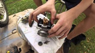9. 2 Stroke Carburetor Rebuild. Rm 250. Part 1