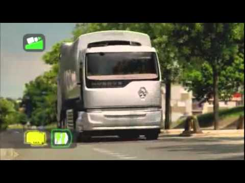Грузовики Renault Trucks Hybrys