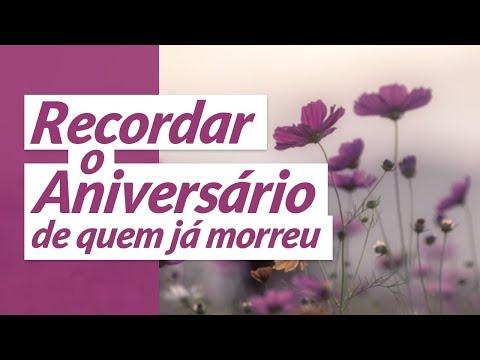 Msg de aniversário - Recordar o aniversário de quem já morreu